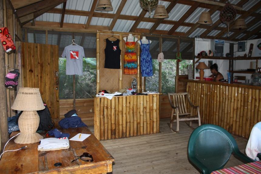 Bar /Restaurant - Guanaja Island Club aka The End of The World resort