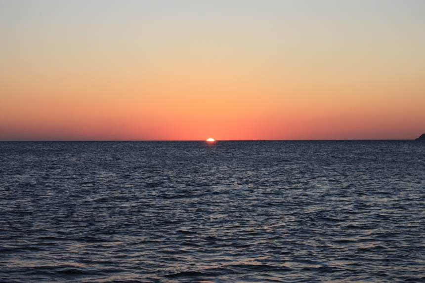 Just Before The Green Flash-You Have To See It Yourself