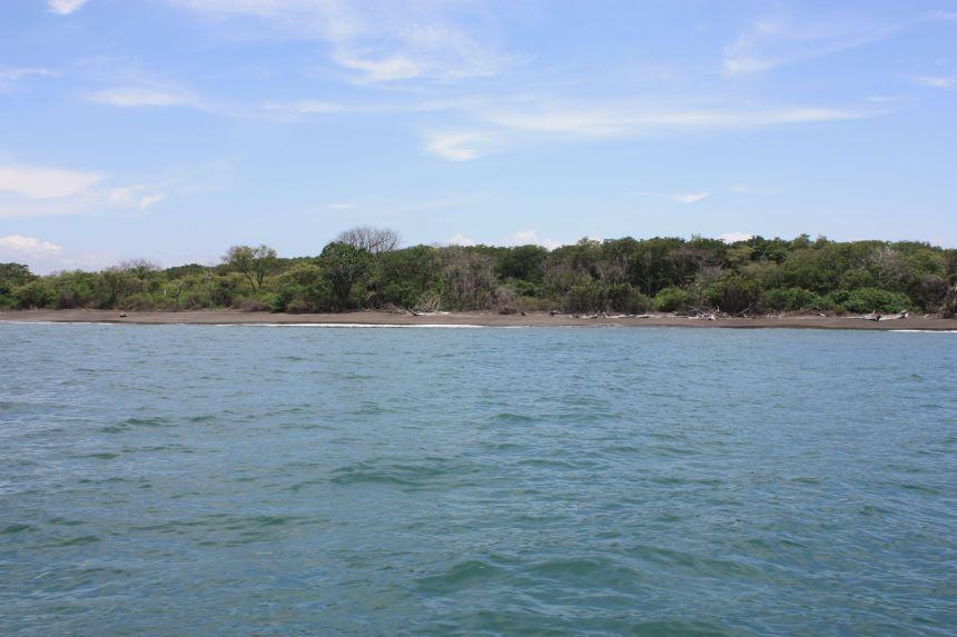 Dark Lava Sand Beach-Boca Brava Island